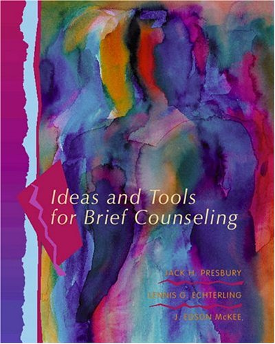 9780130799852: Ideas and Tools for Brief Counseling