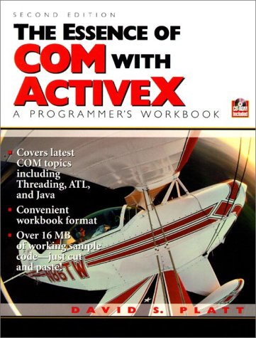 9780130799890: The Essence of COM and ActiveX: A Programmers Workbook (2nd Edition)