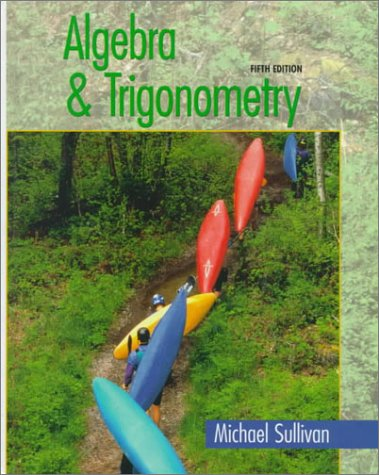 9780130800060: Algebra and Trigonometry (5th Edition)