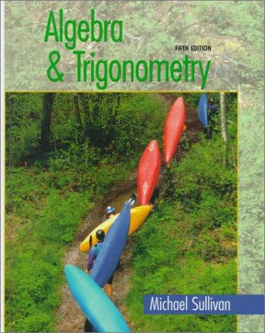 9780130800060: Algebra and Trigonometry (5th Edition)