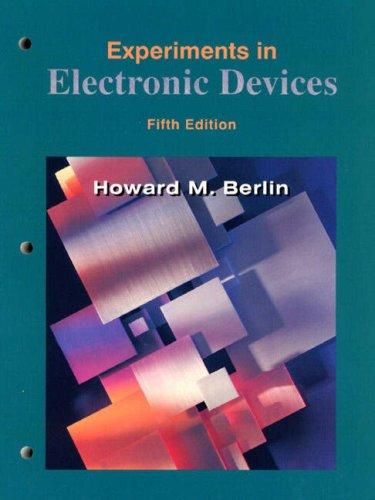 9780130800237: Lab Manual (Berlin): To Accompany Floyd's Electronic Devices and Electron Devices, Electron-Flow Version