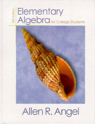 9780130800336: Elementary Algebra for College Students (5th Edition)