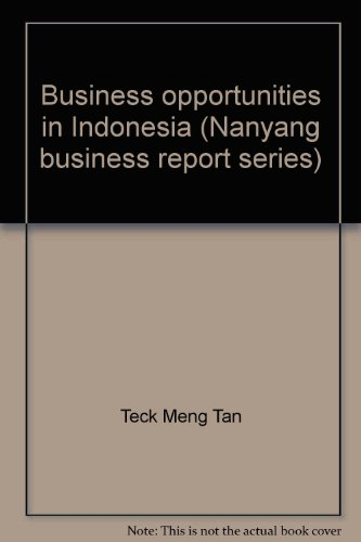 9780130800824: Business opportunities in Indonesia (Nanyang business report series)