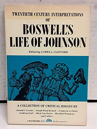 9780130801845: Boswell's