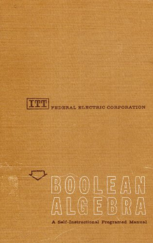9780130802002: Boolean Algebra; a Self-Instructional Programed Manual