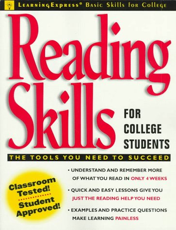 9780130802583: Reading Skills for College Students (Learningexpress Basic Skills for College Students)
