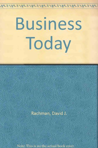9780130802958: Business Today
