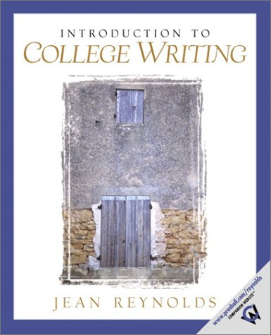 9780130803283: Introduction to College Writing