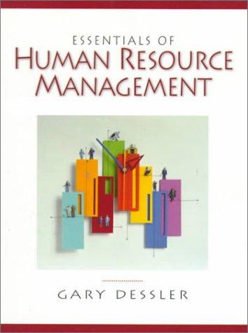 Essentials of Human Resource Management: Gary Dessler