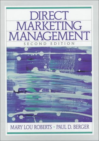 9780130804341: Direct Marketing Management (2nd Edition)