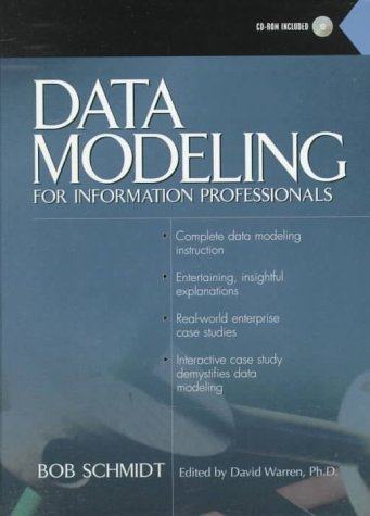 9780130804501: Data Modeling for Information Professionals with CDROM