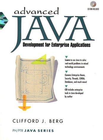 9780130804617: Advanced Java Development for Enterprise Applications