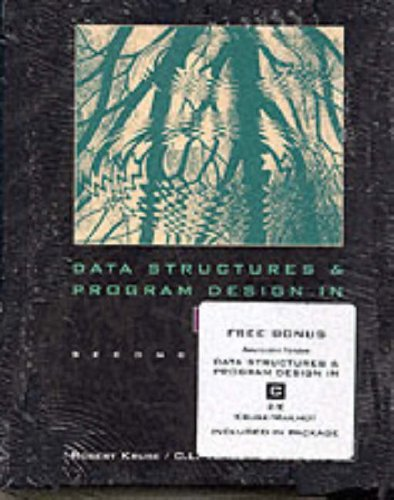 9780130806208: Data Structures and Program Design in C and CD-Rom Data Structures Andprogam Package