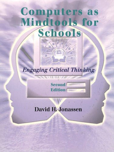 9780130807090: Computers Mindtools Schools: Engaging Critical Thinking
