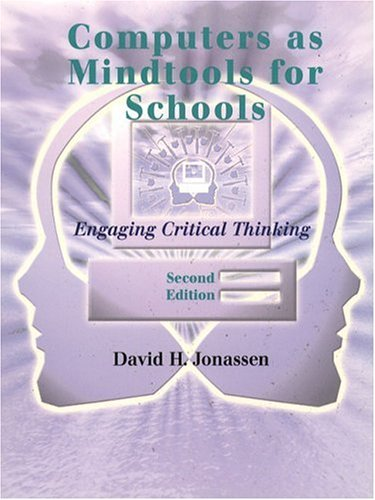 9780130807090: Computers as Mindtools for Schools: Engaging Critical Thinking (2nd Edition)