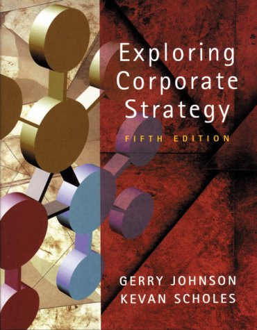 9780130807397: Exploring Corporate Strategy: Text Only (5th Edition)