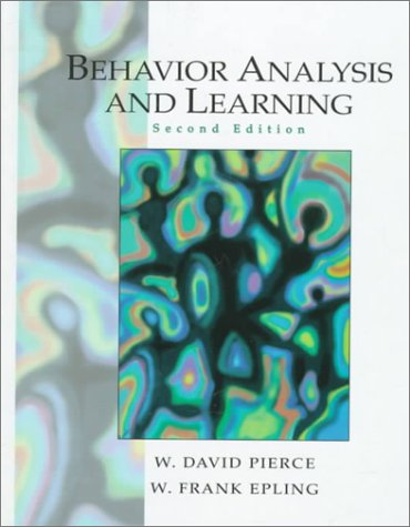 9780130807434: Behavior Analysis and Learning (2nd Edition)