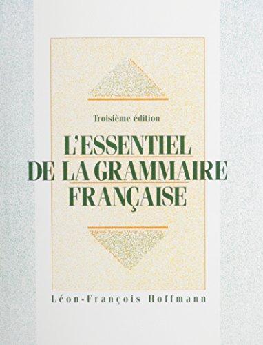 9780130807595: L'essentiel de la grammaire francaise + Travaux Pratiques