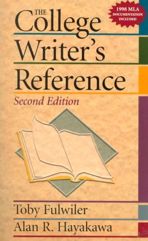 9780130807687: The College Writer's Reference