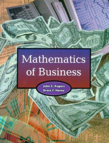 9780130807694: Mathematics of Business
