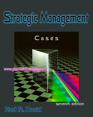 9780130807830: Cases in Strategic Management