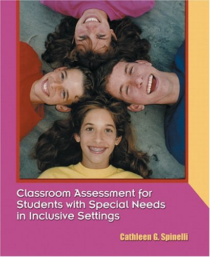 9780130810496: Classroom Assessment for Students with Special Needs in Inclusive Settings