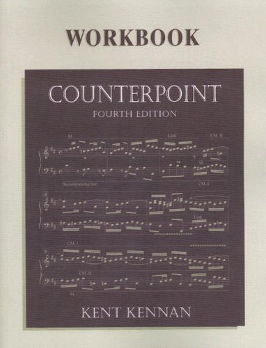 9780130810526: Counterpoint Workbook