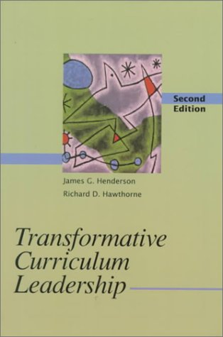 9780130810755: Transformative Curriculum Leadership (2nd Edition)