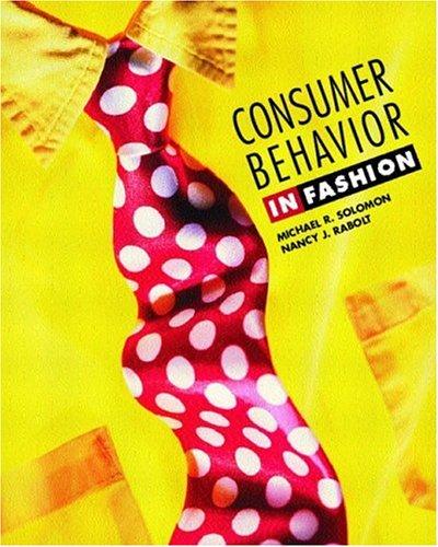 9780130811226: Consumer Behavior: In Fashion