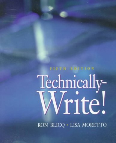 9780130811776: Technically-Write (5th Edition)