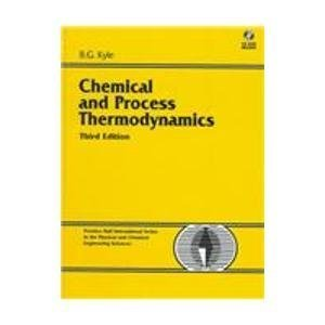 9780130812445: Chemical and Process Thermodynamics