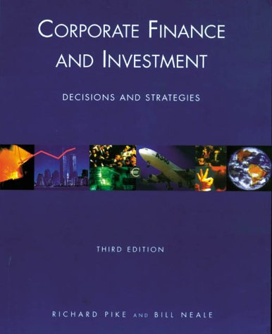 9780130812704: Corporate Finance and Investment, 3rd Ed.