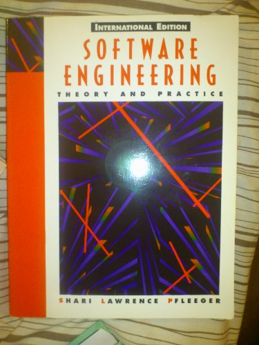 9780130812728: Software Engineering: Theory and Practice