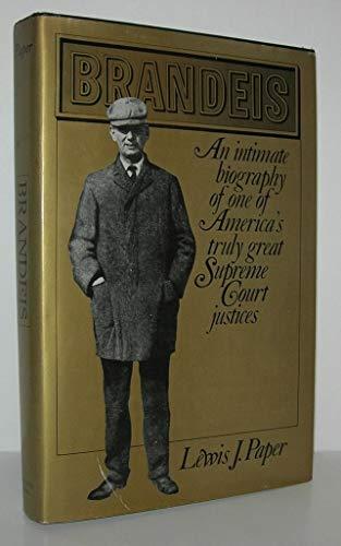 BRANDEIS: Paper, Lewis J.