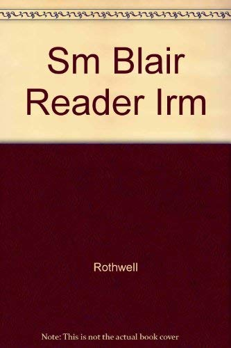 THE BLAIR READER INSTRUCTOR'S RESOURCE MANUAL; THIRD: Kirszner, Laurie G.