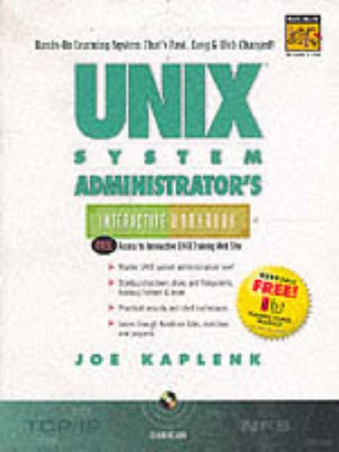 9780130813084: UNIX System Administrator's Interactive Workbook (Interactive Workbook (Prentice Hall))