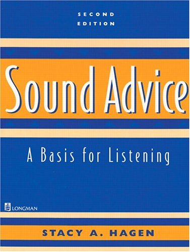 9780130813619: Sound Advice: A Basis for Listening, Second Edition (Student Book)