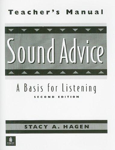 9780130813626: Sound Advice 2e Tm