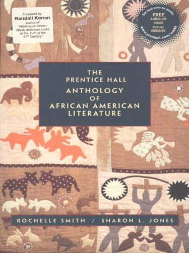 9780130813671: The Prentice Hall Anthology of African American Literature with Audio CD