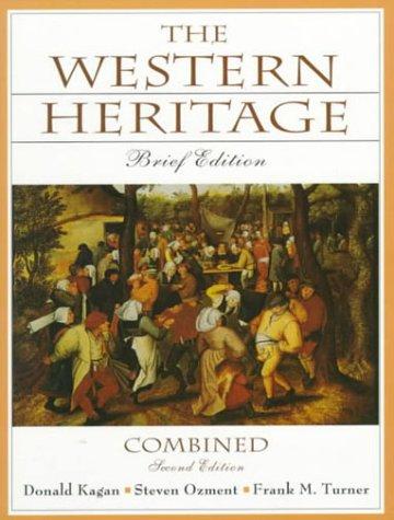 9780130814005: Western Heritage: Brief Ed