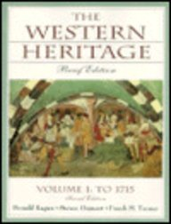 9780130814128: Western Heritage, The: Brief Edition, Vol. I to 1715 Chap. 1-15