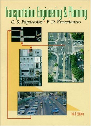 9780130814197: Transportation Engineering and Planning