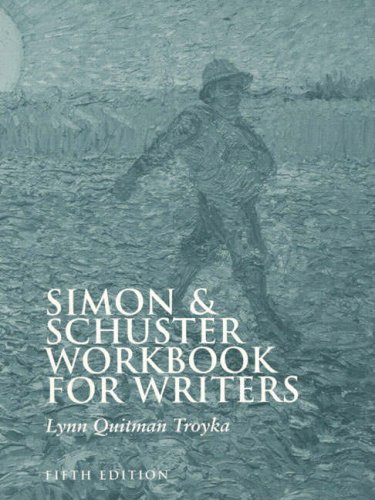 9780130814241: Simon & Schuster Workbook for Writers