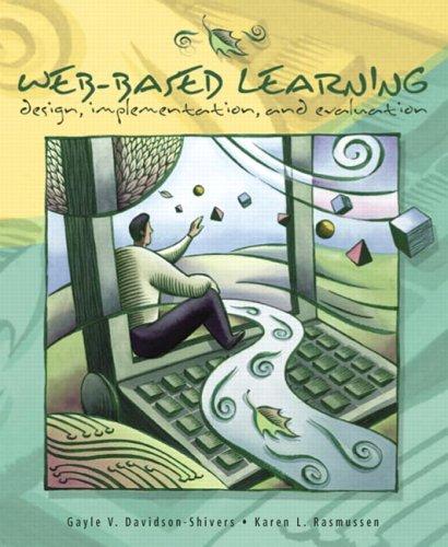 9780130814258: Web-Based Learning: Design, Implementation, and Evaluation
