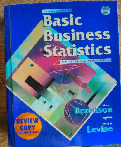 9780130814265: Basic Business Statistics Review Copy
