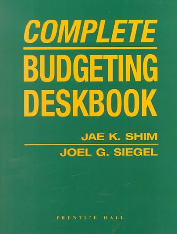 9780130814364: Complete Budgeting Deskbook