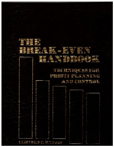9780130814890: The break-even handbook: Techniques for profit planning and control