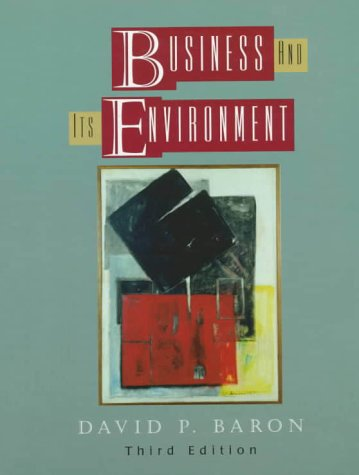 9780130815613: Business and Its Environment (3rd Edition)