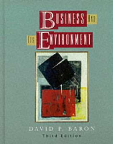9780130815613: Business and Its Environment