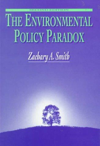 9780130816061: The Environmental Policy Paradox